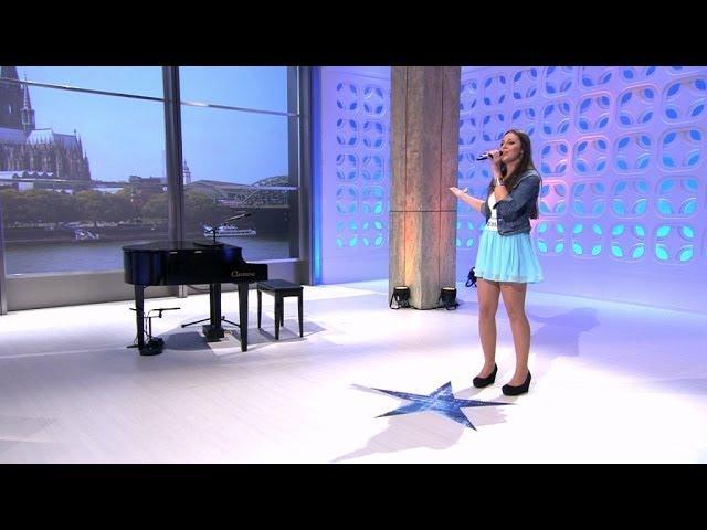 """DSDS 2014 Jessica-Sarah Thoma mit """"Mitten ins Paradies"""" von Helene Fischer"""