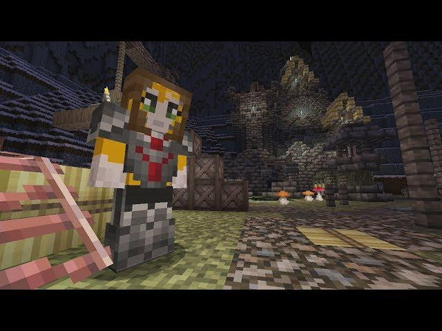 Minecraft Xbox - Skyrim Survival Games - Part 2