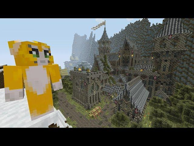 Minecraft Xbox - Skyrim Survival Games - Part 1